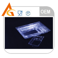 Household and Hotel use plastic tray packaging for microwave oven
