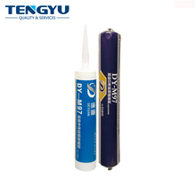 Cartridge acetic silicone sealant glass