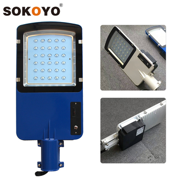 Energy saving 16w 20w 24w 30w 40w smart lithium led lamp for 12v dc outdoor street lighting