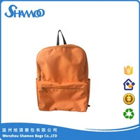 wholesale nylon high quality custom made school backpacks for teenage