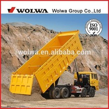 customizable rear dump tipper truck trailer used for transportation in engineering construction field