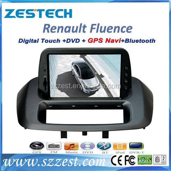 ZESTECH car multimedia navigation system car dvd for Renault Fluence with gps car dvd 2 din touch screen bluetooth