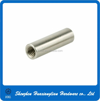 Stainless steel and brass Hex round coupling joint Connector Nut
