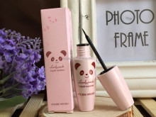 Korea cute panda pink Waterproof not dizzy catch liquid eyeliner Natural lasting Soft head eyeliner