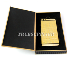 newest design decorative carbon fiber christmas gift box packing for iphone