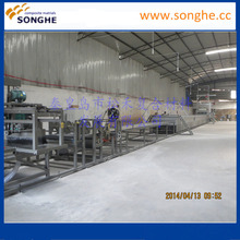 2017 FRP gel coat corrugated roofing sheets making machine