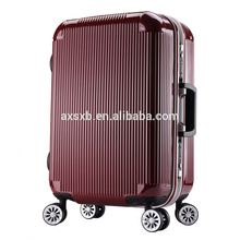 Latest Arrival Trendy style OEM design high end zipper colourful travel trolley luggage bag