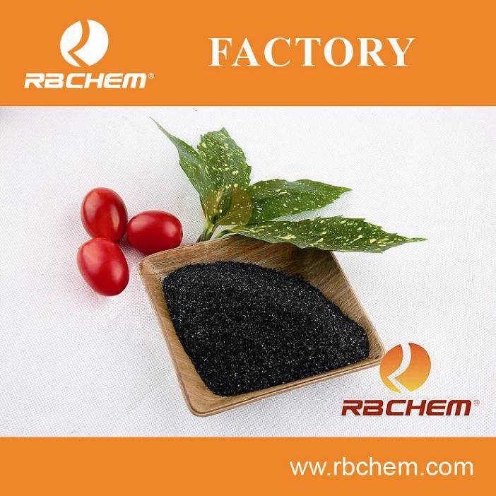 80%HA+15%K2O 100% Soluble potash powder potassium humate/leonardite/potash fertilizer