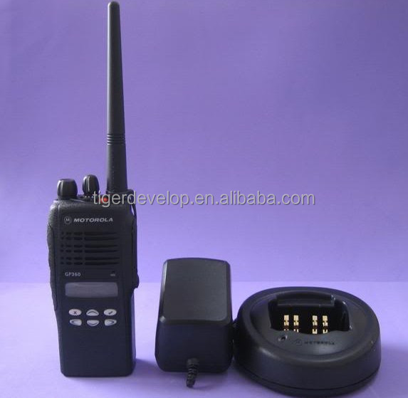 VHF UHF best quality 136-174mhz 400-470mhz walkie talkie for Motorola GP360 two way radio