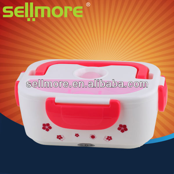 2013 New style innovative electronic lunch box