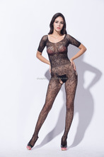 2016 hotsale Women sexy lingerie full body stocking open crotch