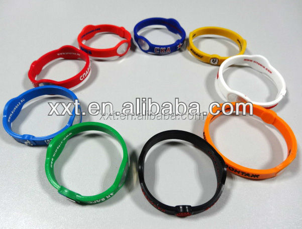 new fashion silicon kids ID bracelet