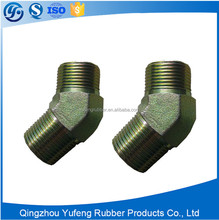 CNC Manufacturing Male JIC 45 Dgree Fittings