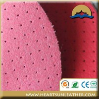 pvc artificial leather for sofa pink colorful leather sofa