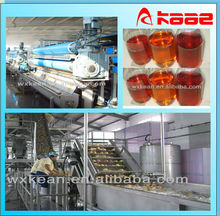 High quality automatic apple juice production plant for pear,carrot,pineapple,etc.