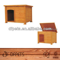 Outdoor Large Cheap Wooden Dog Kennel DFD025