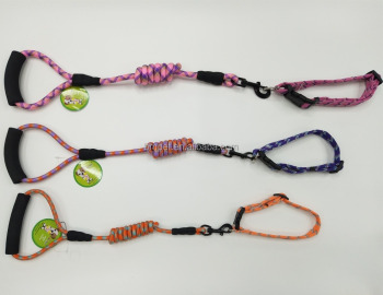 New Products Hot Sales Leading Pet Dog Leashes WIth Soft Handle