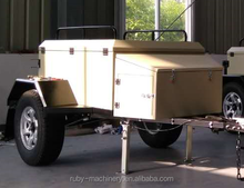 Off Road Tent Folding Camping Car Trailer