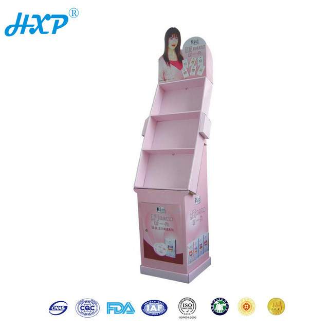 Cardboard box 3-Layer B-Flute OEM Recyclable Display Equipment for Cosmetics