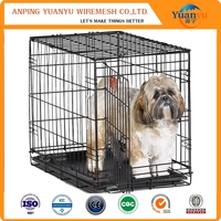 cheap dog fence/foldable wire mesh cage