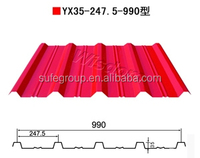 gi or color coated corrugated roofing sheet