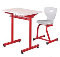 Best quality & cheap school furniture Single fixed desk and chair PP-306G