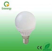 2016 G45 E27 AC220-240V 330lm 4W Dimmable LED Bulb Dimmable LED Candle