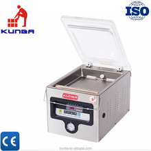 DZ-260/PD vacuum packing machine for fish rice fruit vegetable food vacuum sealer