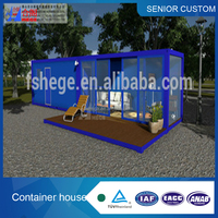 low cost comfortable container hotel room