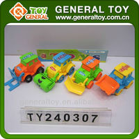 Plastic bucket truck toy logging trucks
