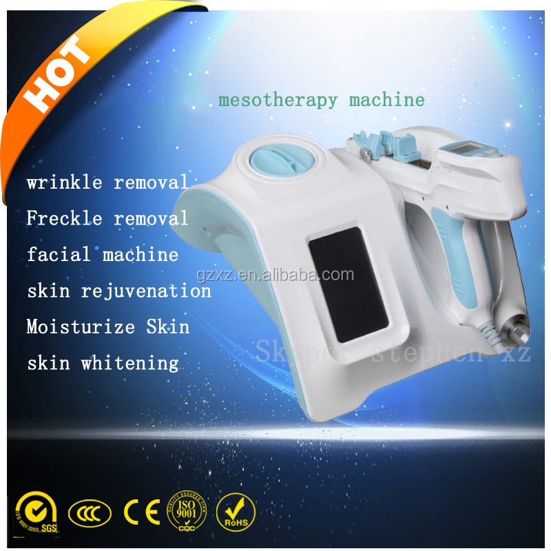 mesotherapy no needles meso gun for wrinkle removal/skin nutrient injection mesotherapy machine