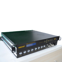 (DMB-9581) Digital TV Modulator H.264 8 HDMI to DVB-T Encoder Modulator with ASI multiplexing RF mixing