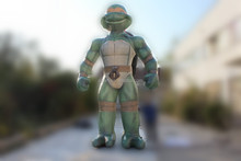 giant anime character Fair promotional inflatable Ninja turtle