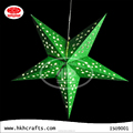 attractive origami with led light paper star lantern