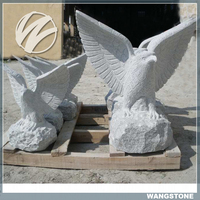 Stone animal decoration outdoor eagle statues