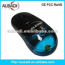 Customized Design Pretty Liquid No Battery Wireless Mouse