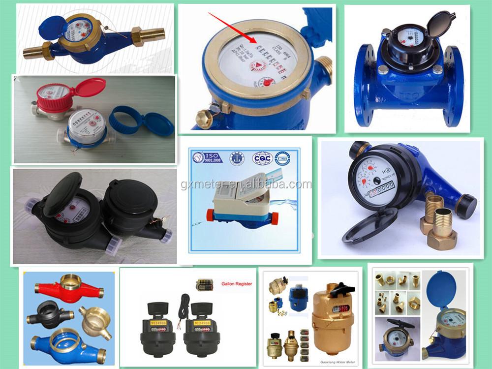 Water Velocity Meter : Water velocity meter multi jet vane wheel dry dial type