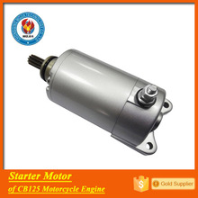 CB125 motorcycle engine spare parts electric start motor