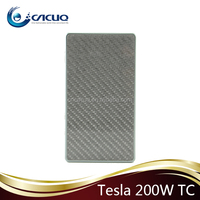 Hot sale!!! 2015 newestTesla 200W TC!!Temperature control 200w mod Aluminum and Carbon Fiber Material Tesla 200W TC