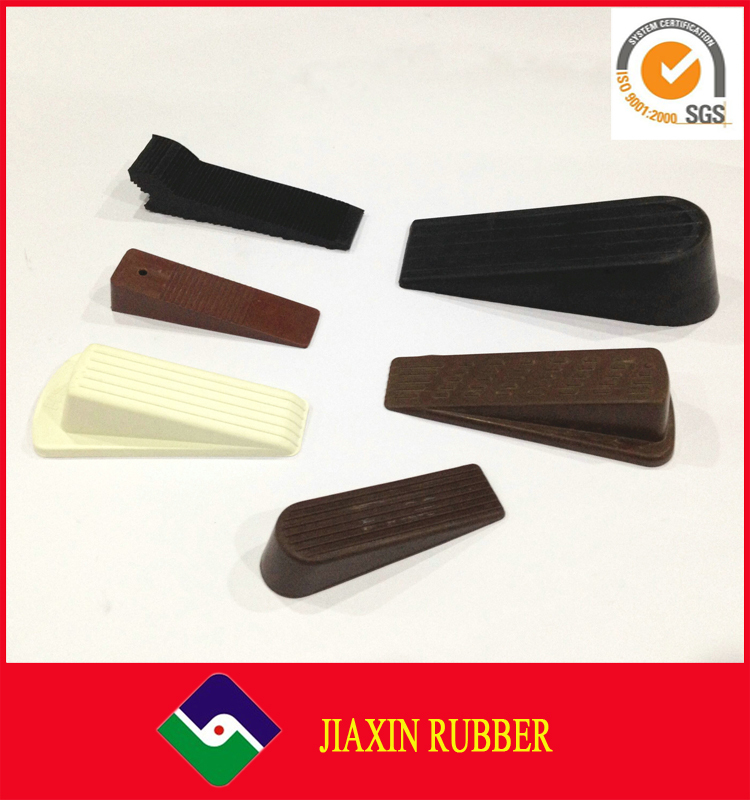 Manufacture safety sliding custom plastic rubber door stop wedge