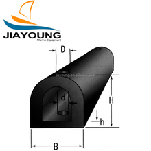 D Type Marine Rubber Fender Used For Dock Wharf Berthing