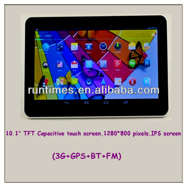 10.1'' capacitive Window 7 tablet PC