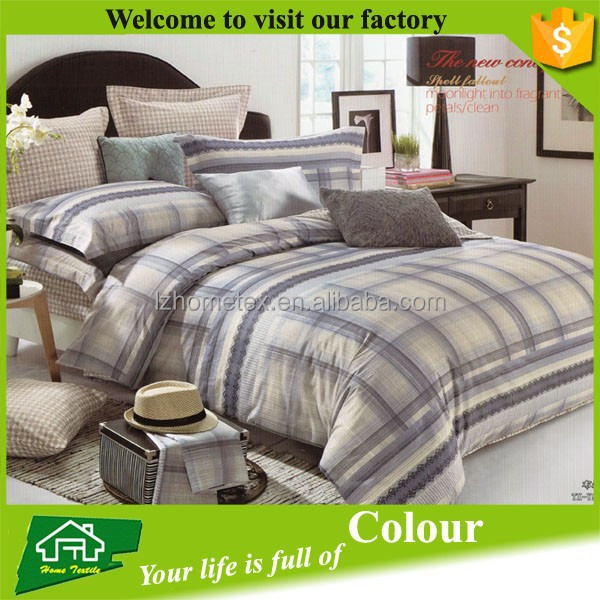 hot selling China duvet cover manufacture brand name king size bed covers