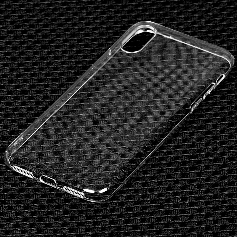 DFIFAN Glossy Transparent Clear Phone Covers for Iphone x case New Products 2017 Mobile Phone Cases for Apple iphone x