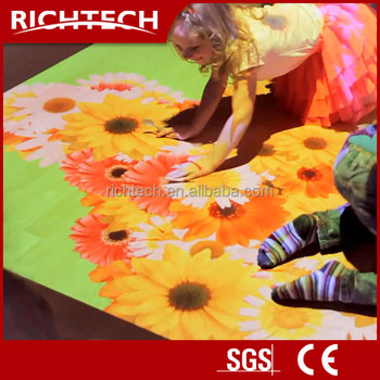 GREAT DEAL! Interactive flooring display projection system for education, kid games, exhibition, shopping mall