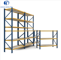 Industrial warehouse heavy duty galvanized storage pallet rack