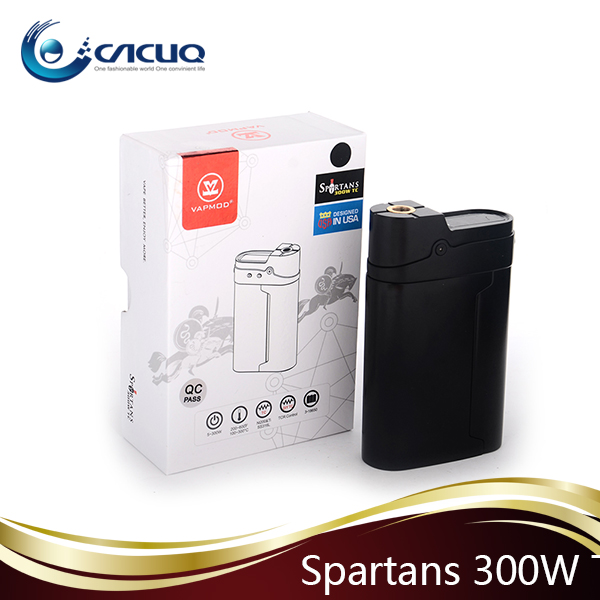Wholesale Vapmod Spartans 300W TC Mod Variable Watt & Voltage Mech Mod High Wattage Vape 300W
