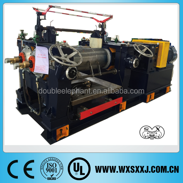 rubber mixing mill XK-400/450/560 reclaimed rubber plant/waste tyre recycling machine