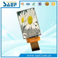 lcd sharp replacement screen 3.5 inch TFT display 320 * 480 resolution with 4-Wire SPI+RGB(18Bit) interface in LCD MODULE