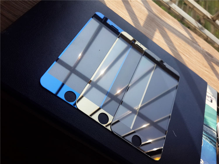 Full Covers Front Back Mirror Tempered Glass Metal Bumper Frame Case For iPhone 6
